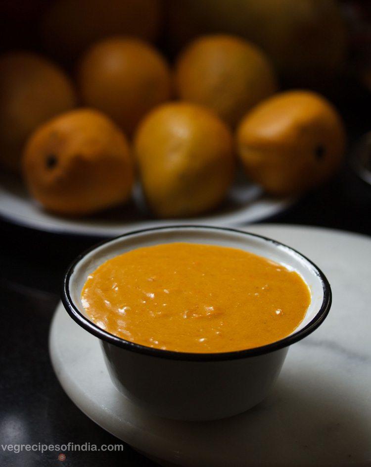 mango shikran recipe