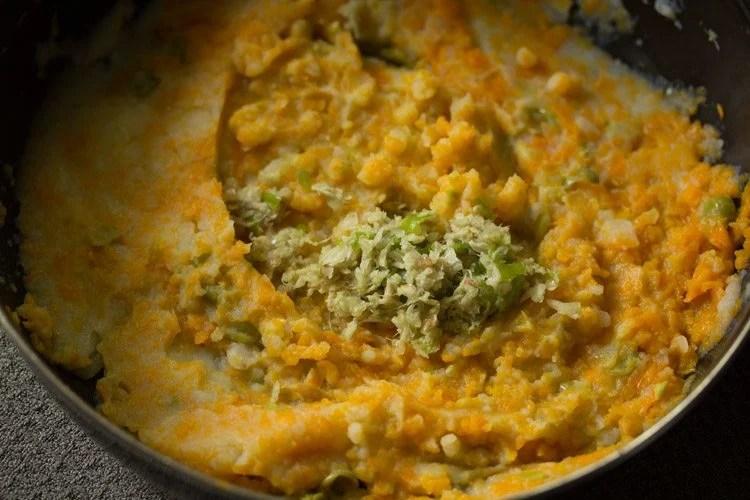 veggies to make paneer cutlet recipe
