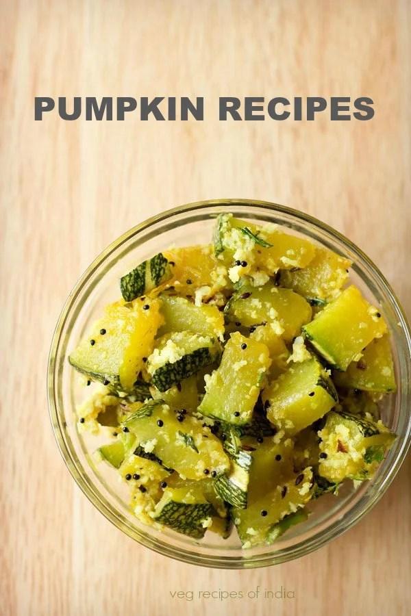 pumpkin recipes, kaddu recipes