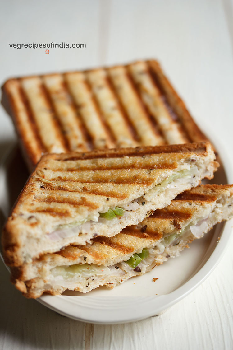 veg cream cheese sandwich recipe