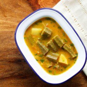 bhindi salan recipe, bhindi ka salan