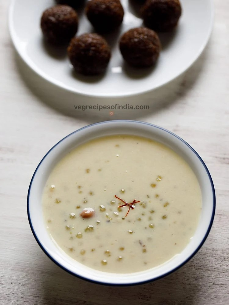 javvarisi payasam recipe, sabudana payasam recipe, saggubiyyam payasam