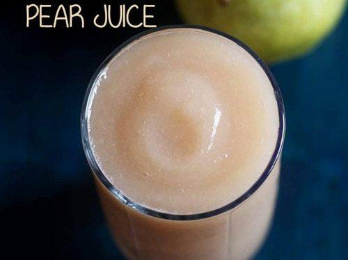 pear juice recipe