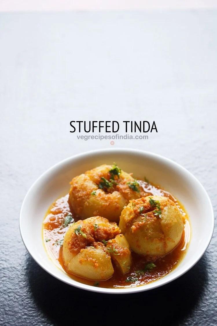 stuffed tinda recipe