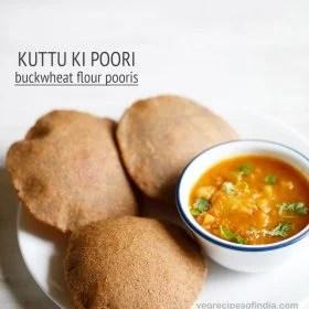 kuttu ki poori recipe