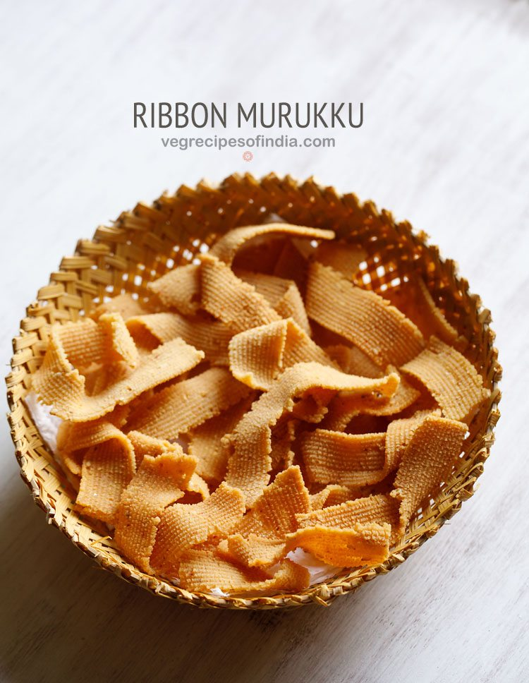 ribbon murukku recipe