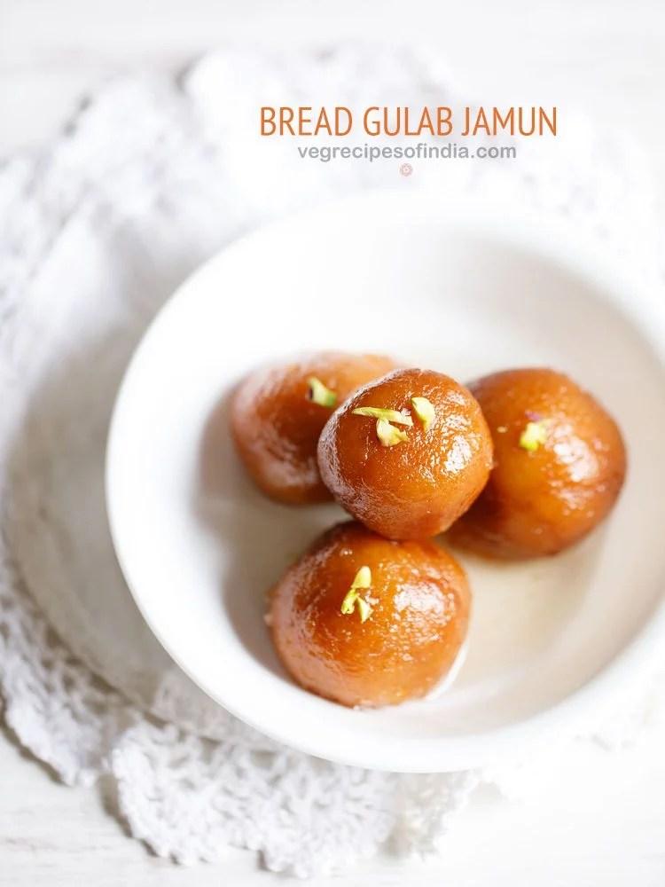 bread gulab jamun recipe