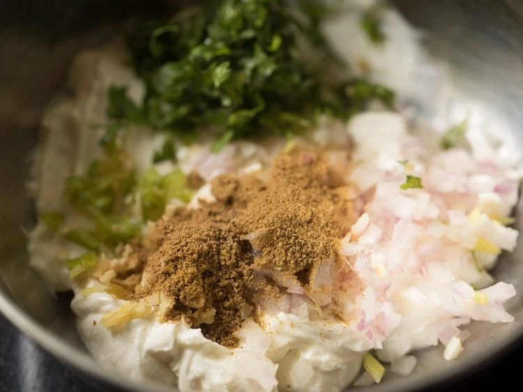 making dahi ke kabab recipe