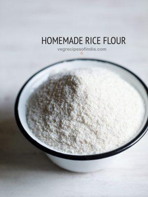 rice flour recipe