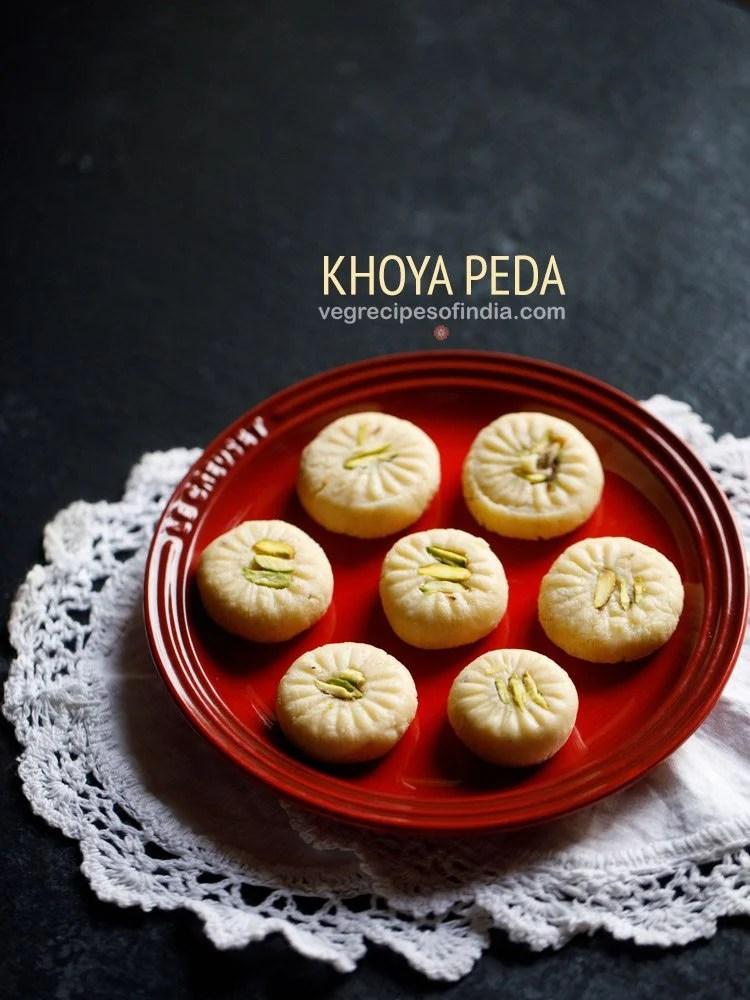 peda recipe, doodh peda recipe, milk peda recipe, peda sweet recipe