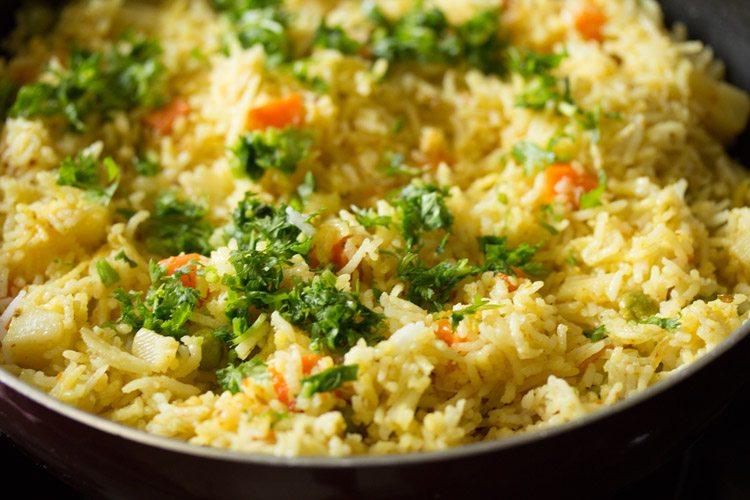 veg masala fried rice