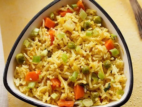veg masala fried rice recipe