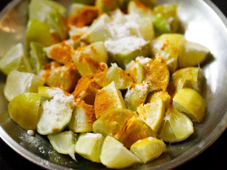 making kerala naranga achar recipe