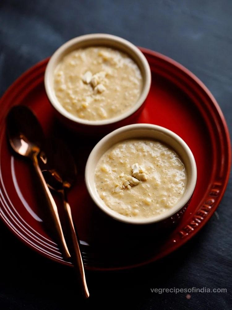 Bengali rice payesh recipe