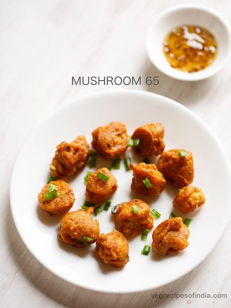 mushroom 65 recipe easy recipe