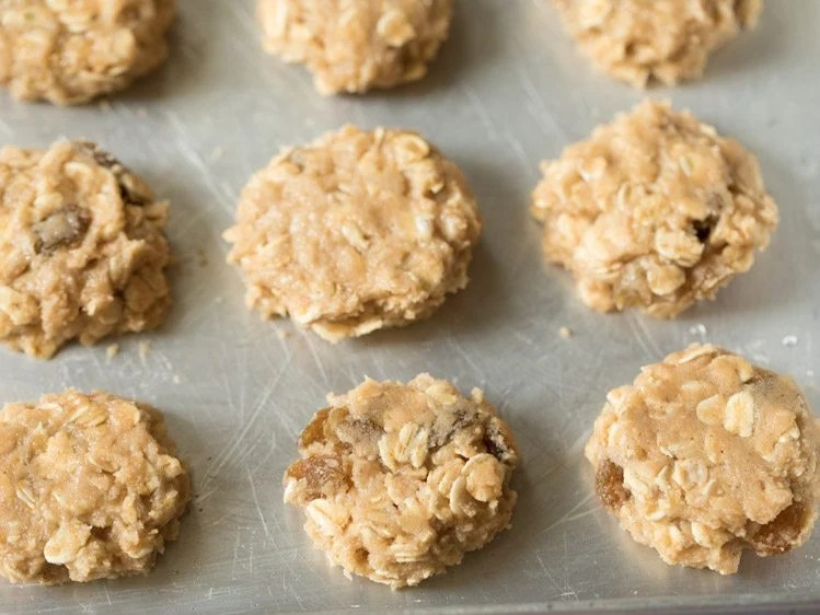 making oats cookies recipe