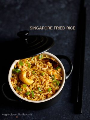 singapore fried rice recipe