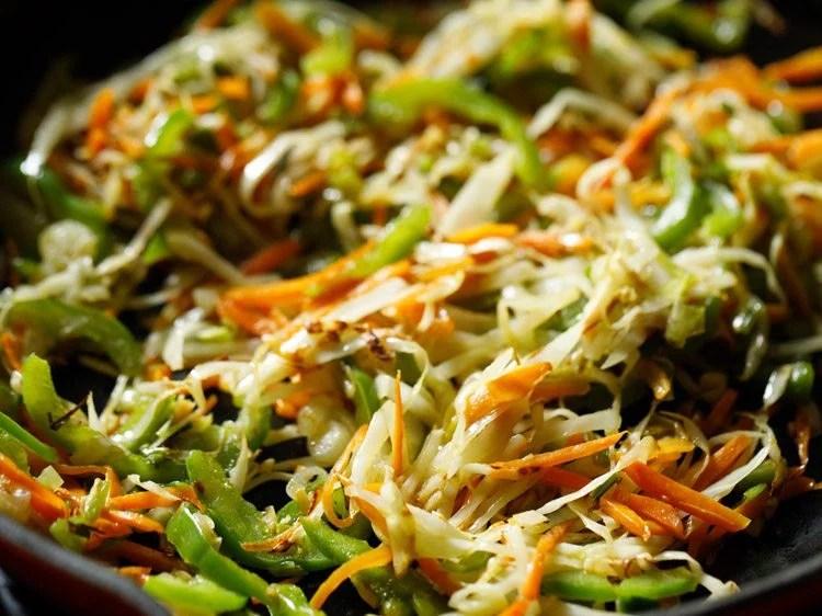 making veg American chopsuey recipe