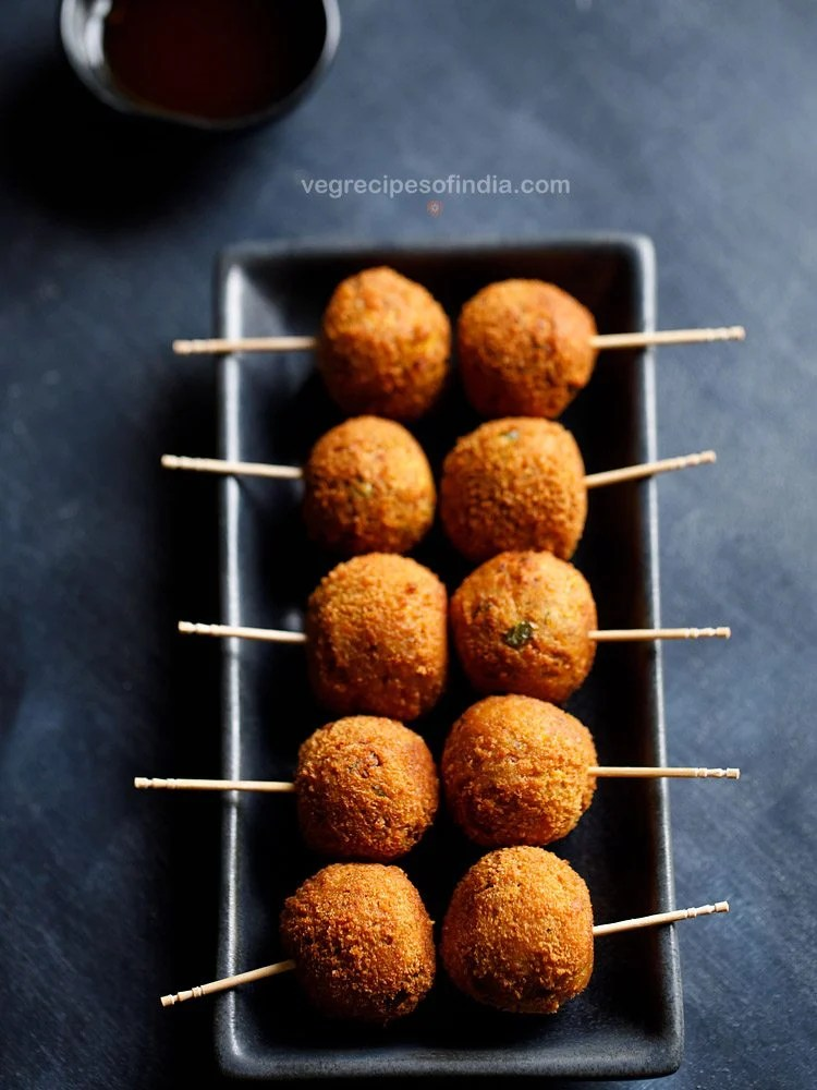 veggie lollipop recipe