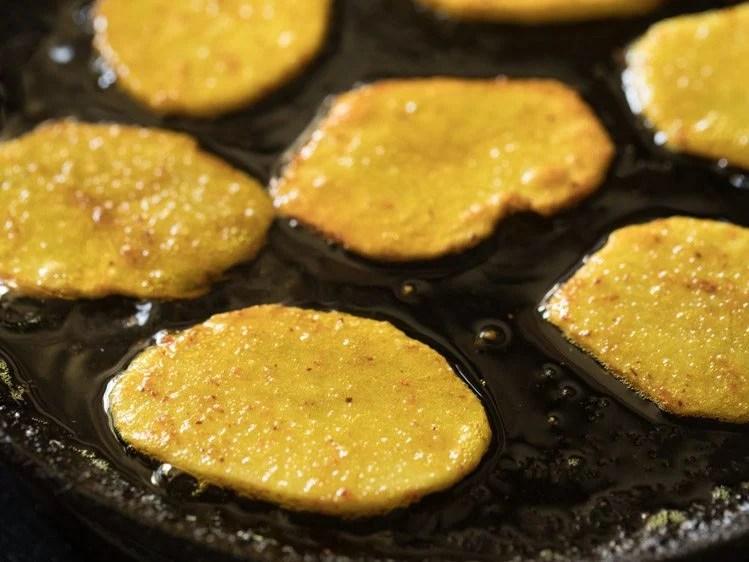 making aloo bhaja recipe