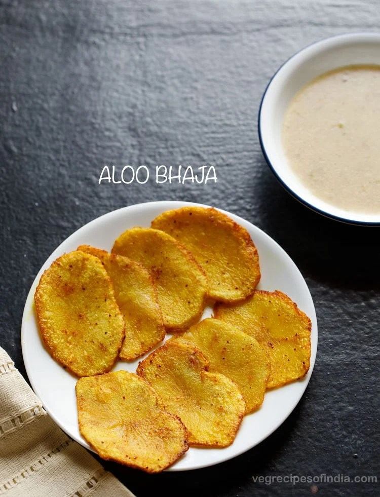 Bengali aloo bhaja recipe