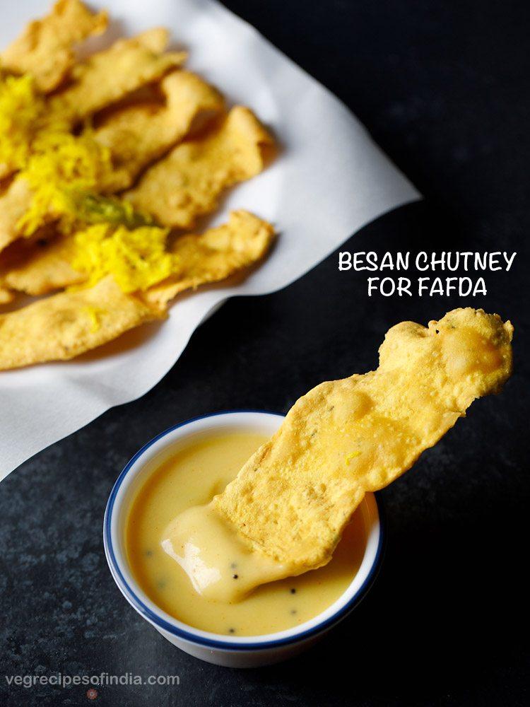 besan chutney for fafda