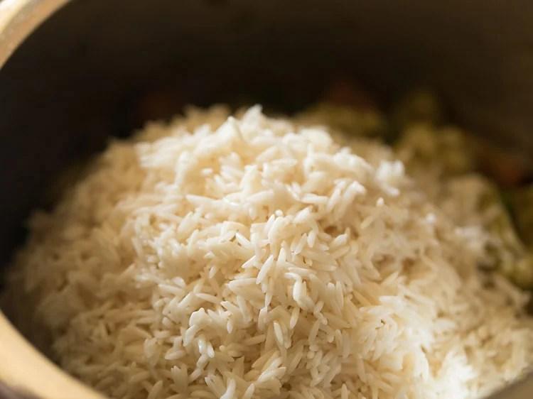 making veg brinji rice recipe