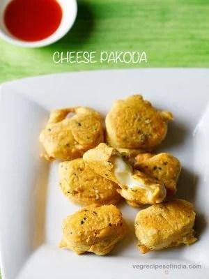 cheese pakoda recipe