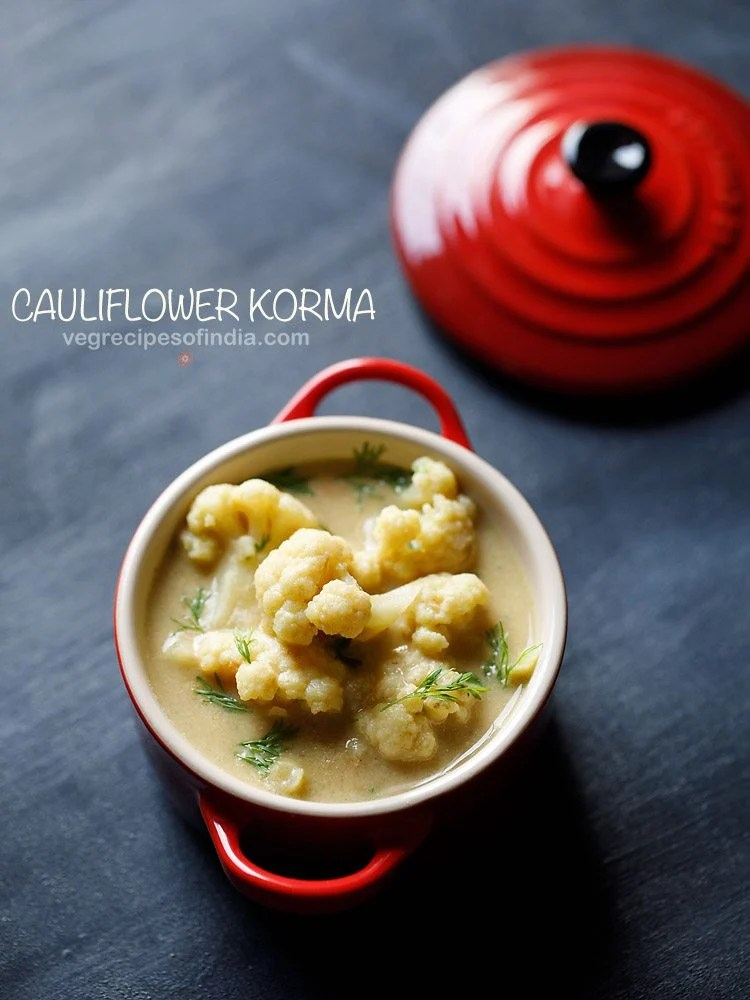 Chettinad cauliflower kurma recipe