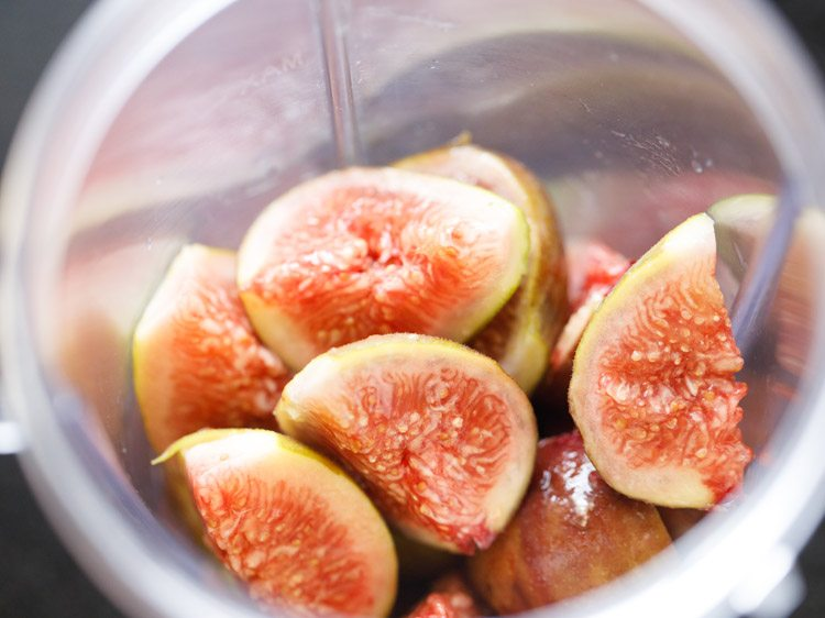 figs to make fresh figs smoothie recipe