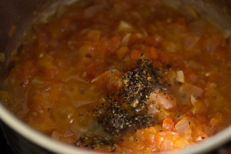 making one pan pasta recipe