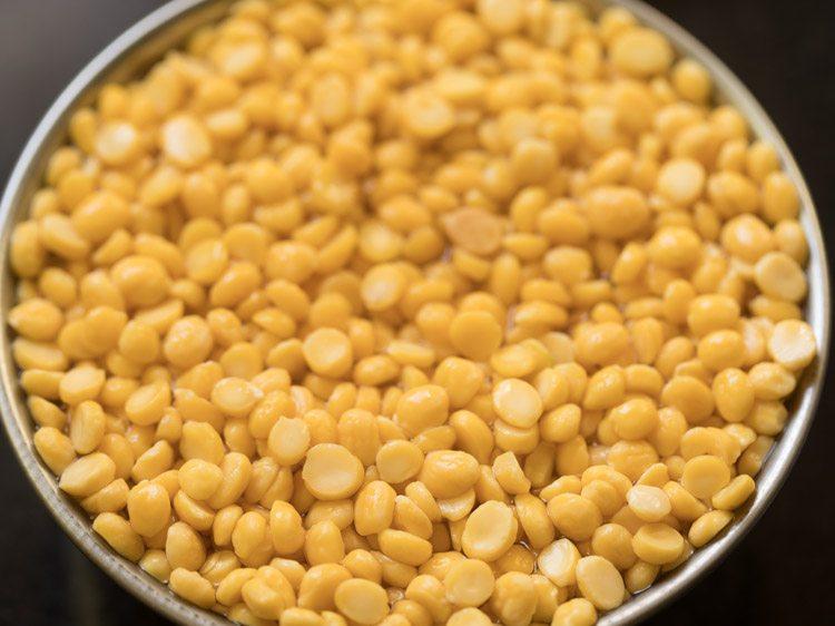 chana dal to make chana dal sundal recipe