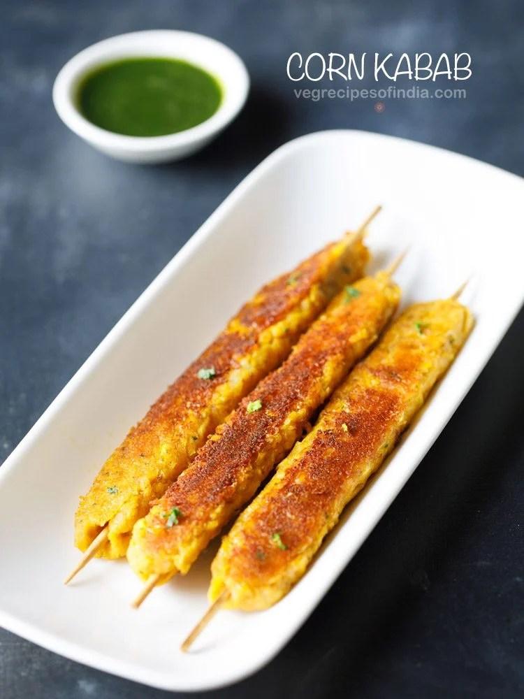 corn kabab recipe