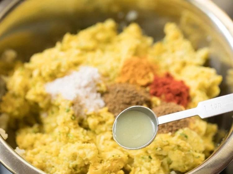 making corn kabab recipe