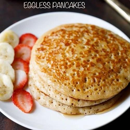 eggless pancake recipe, easy pancake recipe, best pancake recipe, fluffy pancake recipe