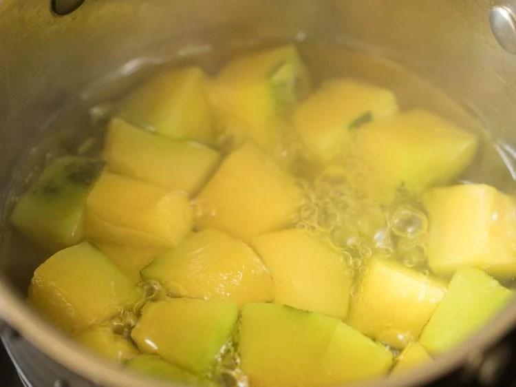 pumpkin for making pumpkin sambar recipe