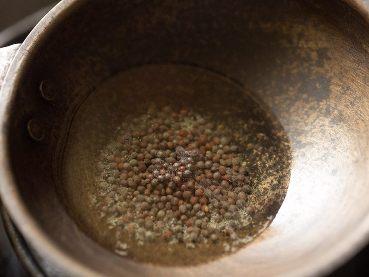making sesame or til rice recipe