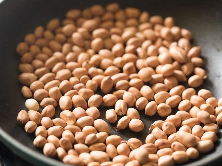 peanuts for making peanut rice recipe