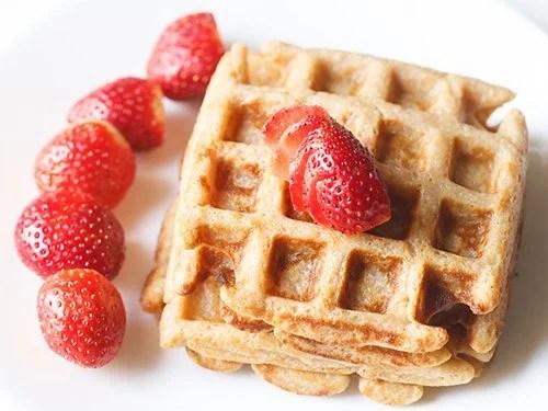 eggless waffle recipe