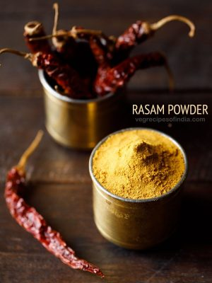 rasam powder recipe