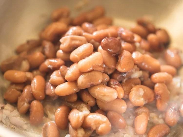 making refried beans recipe