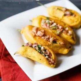 mirchi bajji recipe, mirapakaya bajji