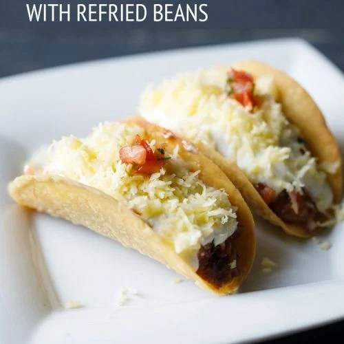 vegetarian tacos recipe, veg taco recipe