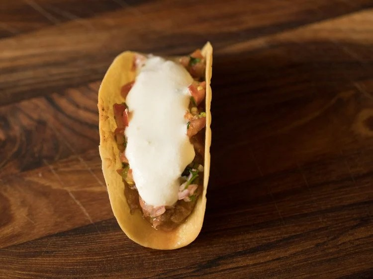 Mexican veg taco recipe