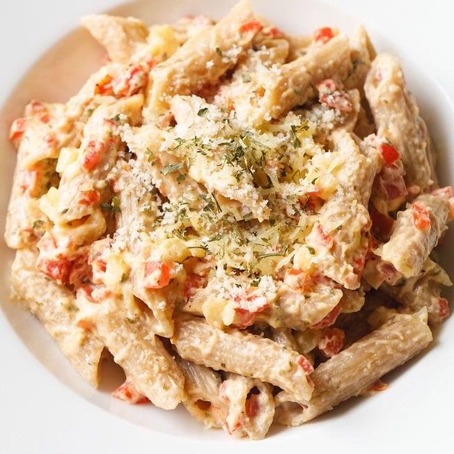 Alfredo Pasta (Easy Method) | Dassana's Veg Recipes