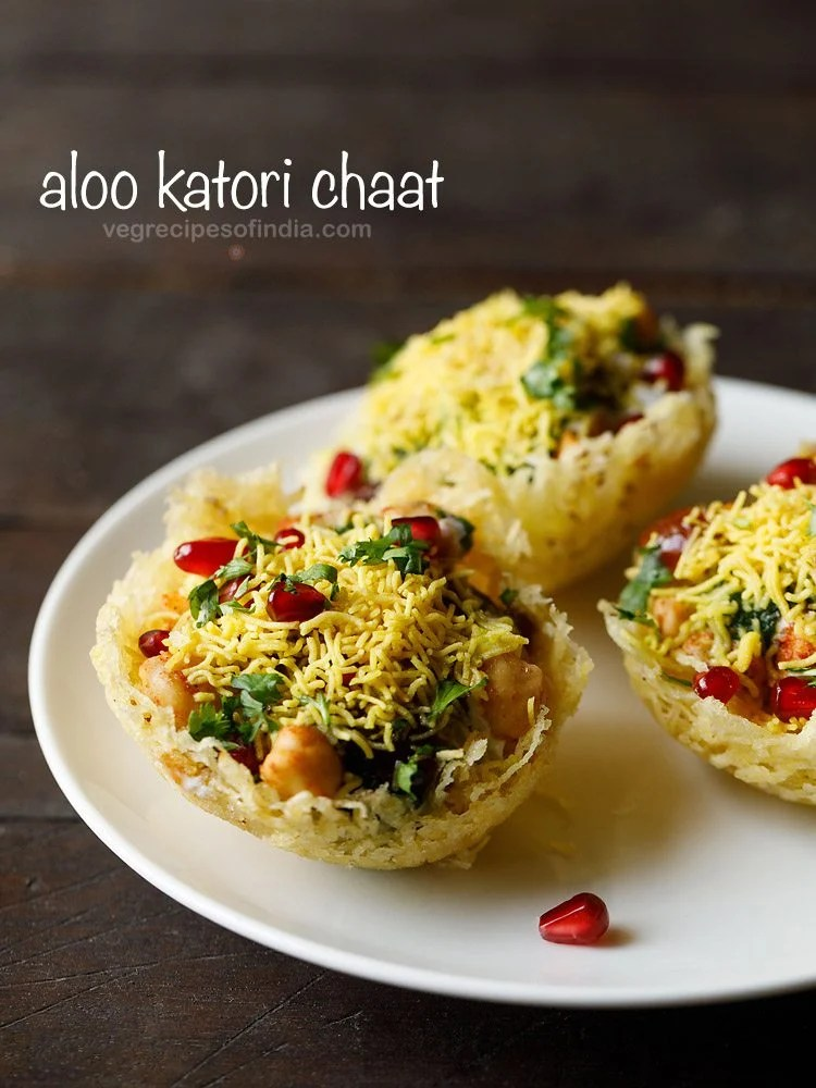 aloo katori chaat recipe