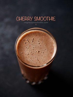 cherry smoothie recipe
