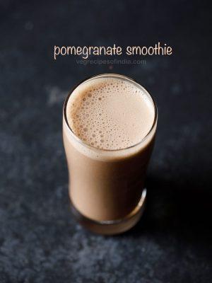 pomegranate smoothie recipe