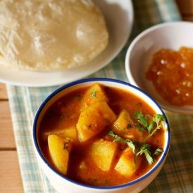 potato curry recipes, potato gravy recipes, aloo gravy recipes