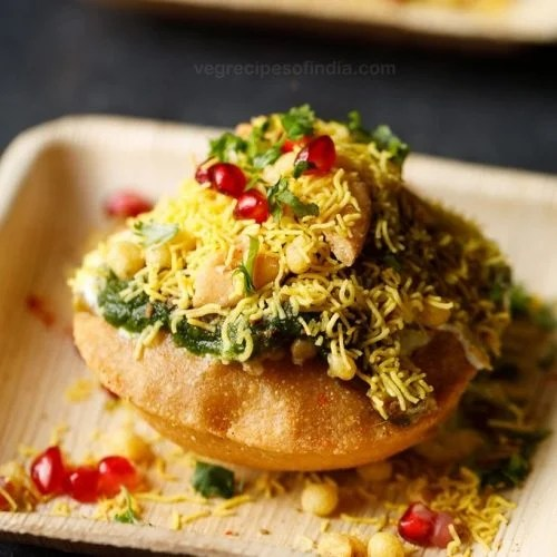 raj kachori recipe, raj kachori chaat recipe